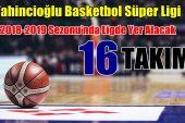 Tahincioğlu Basketbol Süper Ligi'ne katılacak 16 Takım
