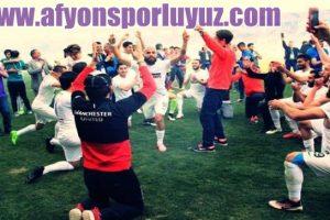 Afjet Afyonspor 2.Lig Şampıyonluk Kutlamaları