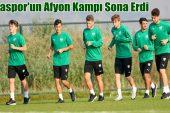 Bursaspor'un Afyon Kampı Sona Erdi