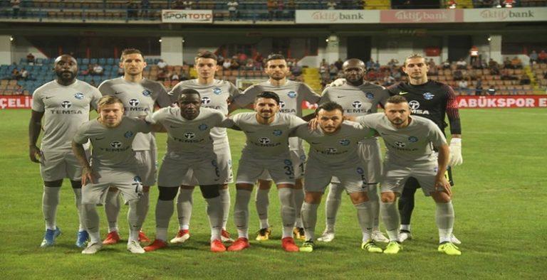 Adana Demirspor deplasmanda Karabükspor'u 1-0 yendi