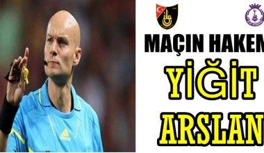 İstanbulspor-Afjet Afyonspor Maç Hakemi Yiğit Arslan
