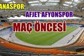 Adanaspor – Afjet Afyonspor Maç öncesi Analiz