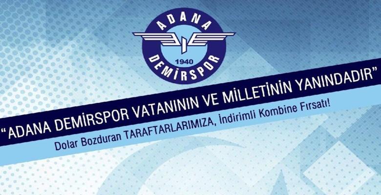 Adana Demirspor'dan Dolar Kampanyası !!!