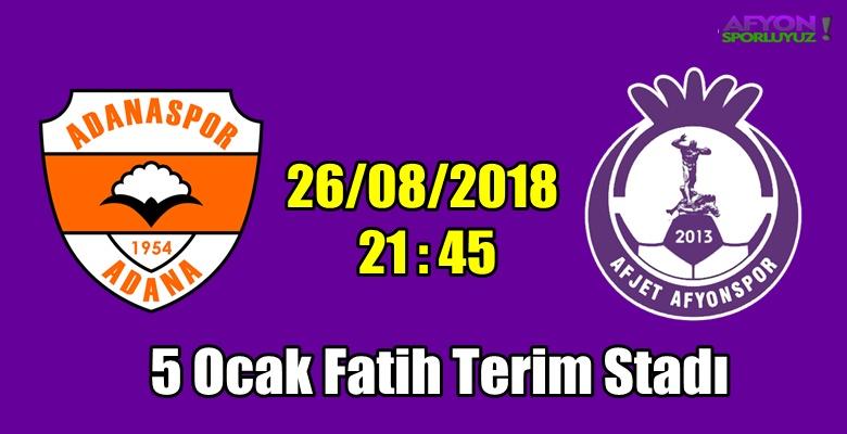Adanaspor – Afjet Afyonspor karşılaşması
