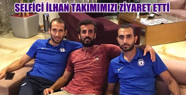 İlhan Aydoğdu'dan Afyonspor'a sürpriz ziyaret !!!