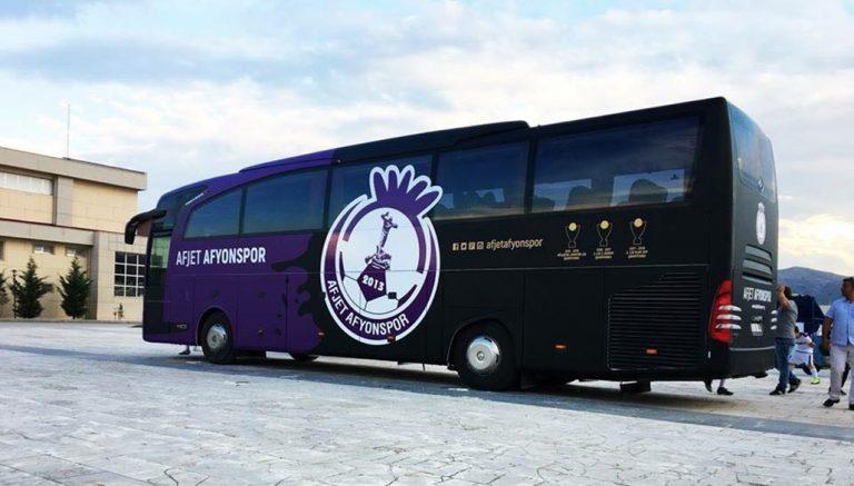 Afjet Afyonspor Otobüsü
