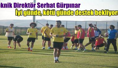 Afjet Afyonspor Teknik Direktörü ' Destek bekliyoruz ' !!