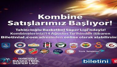 Afyon Basketbol takımı Kombine bilet satışı başladı