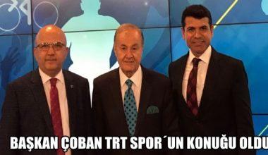 BURHANETTİN ÇOBAN TRT SPOR'A KONUK OLDU !!