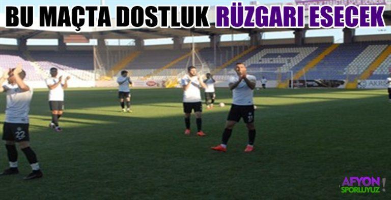 Afjet Afyonspor-Altay maçında dostluk rüzgarları esecek !!!