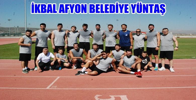 İkbal Afyon Belediye Yüntaş Lige Hazırlanıyor !!!