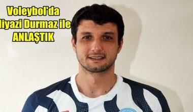 Afyon Voleybol takımı Niyazi Durmaz ile anlaştı !!!