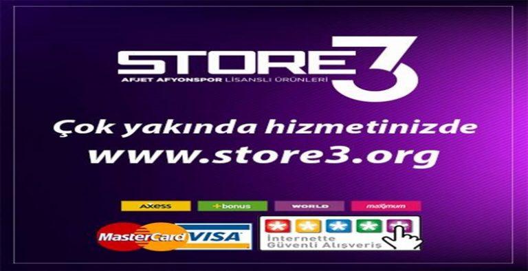 Store3.org web sitesi açılıyor !!!