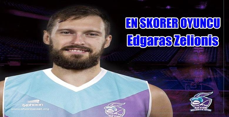 Edgaras Želionis  en skorer oyuncu oldu !!!