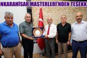 Burhanettin Çoban, Afyon Masterler Derneği Yönetimini kabul etti
