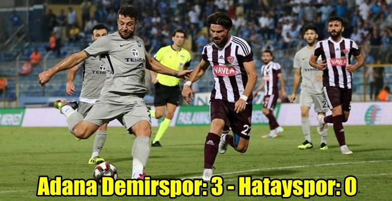 Adana Demirspor : 3 – 0 Hatayspor