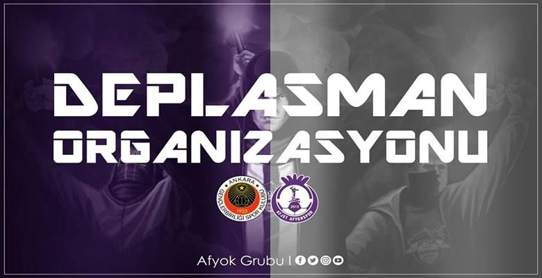 AFYOK'tan Gençlerbirliği Deplasman Organizasyonu