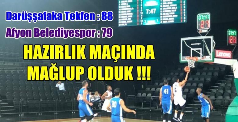 Darüşşafaka Tekfen : 88 – Afyon Belediyespor : 79