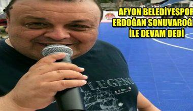 Dodo lakaplı Erdoğan Sonuvaroğlu Afyon ile devam dedi !!!