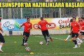 Giresunspor, Afjet Afyonspor hazırlıklarına başladı !!!