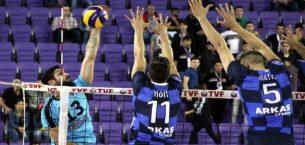 İkbal Afyon Belediye Yüntaş: 1 – Arkas Spor: 3