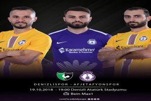 Denizlispor ile Afjet Afyonspor karşılaşacak