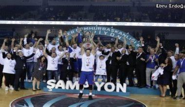 34.Erkekler Cumhurbaşkanlığı Kupası'nı Anadolu Efes kazandı