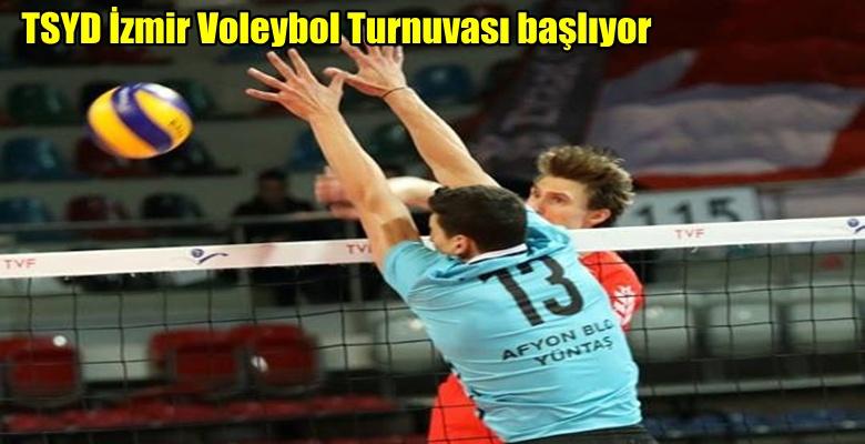 Voleybol'da İzmir Turnuvası başlıyor