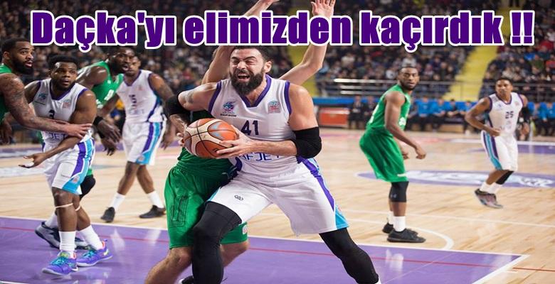 Afyon Daçka'yı elinden kaçırdı !!