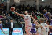 Afyon Belediyespor, Banvit'e son saniyede mağlup oldu !!