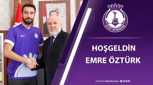 Afjet Afyonspor'a Hoşgeldin Emre Öztürk !