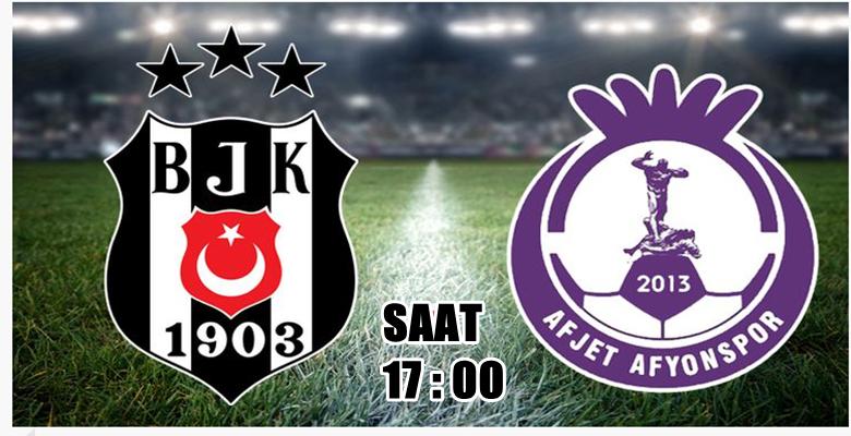 Beşiktaş – Afjet Afyonspor hazırlık maçı başlıyor