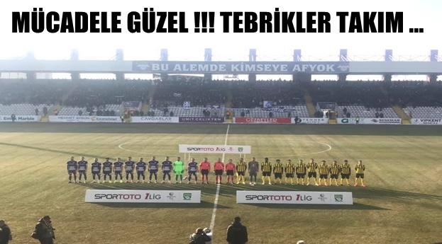 Afjet Afyonspor – İstanbulspor ile berabere kaldı