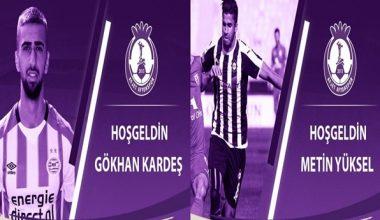 Metin Yüksel ve Gökhan Kardeş Afjet Afyonspor'a transfer oldu !!!