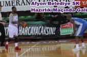Afyon Belediye Hazırlık Maçında Pınar Karşıyaka'yı Mağlup etti