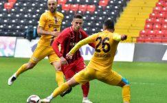 Afjet Afyonspor, Gaziantep'de son dakikalarda kaybetti !!