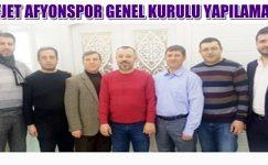Afjet Afyonspor'da yeterli çoğunluk sağlanamadı !!
