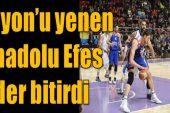 Afyon Basketbol takımımız Efes'e mağlup !!