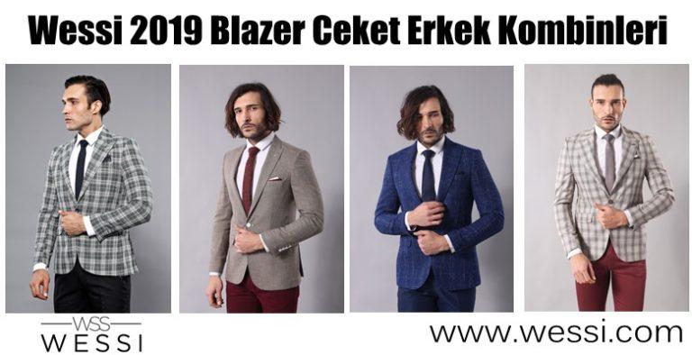 Wessi 2019 Blazer Ceket Erkek Kombinleri