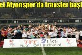 Afjet Afyonspor'da transfer başladı