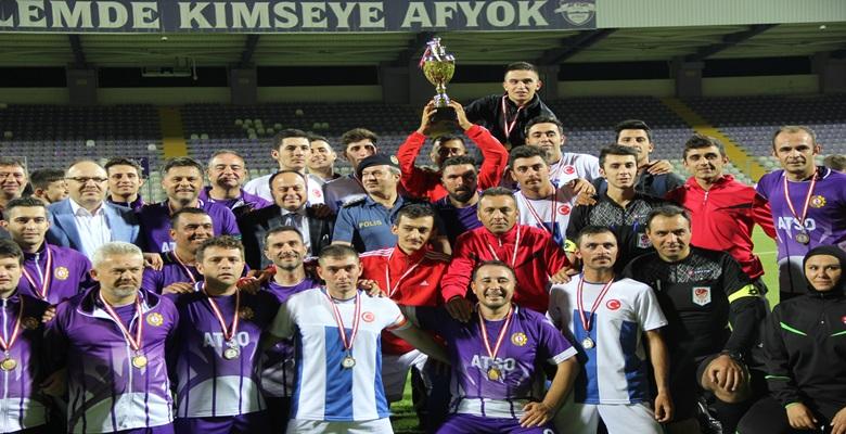Basın Bayramı Futbol Turnuvasında kupa ATSO'nun !!