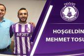 Afjet Afyonspor, Mehmet Tosun ile sözleşme imzaladı !!