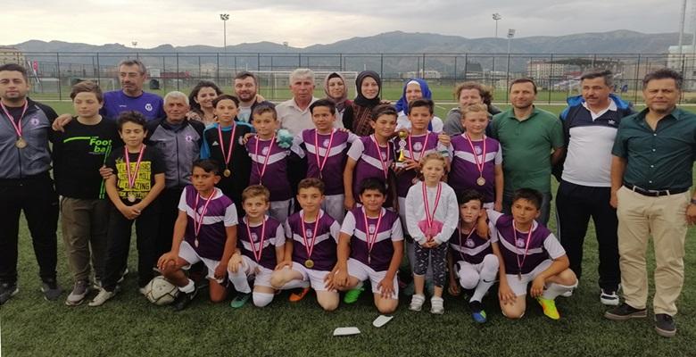 Afjet Afyonspor U11'ler Ligi'nde şampiyon oldu