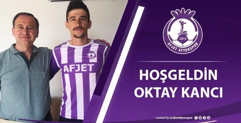 Afjet Afyonspor'da sol bek Oktay Kancı'ya emanet !!