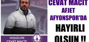 Afjet Afyonspor'da yeniden Cevat Macit dönemi !!