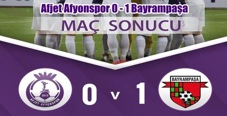 Afjet Afyonspor kupadan erken elendi !!