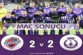 Hekimoğlu Trabzon : 2 – 2 Afjet Afyonspor