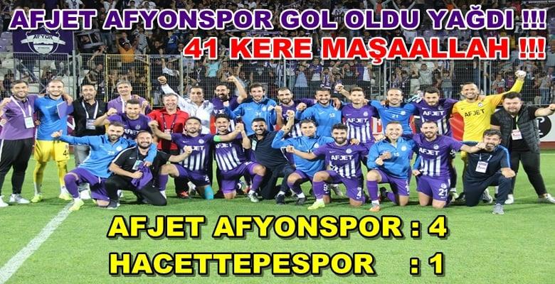Afjet Afyonspor : 4 -1 Hacettepe Spor
