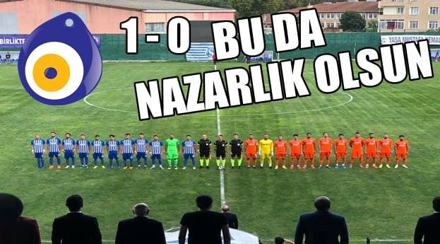 Nazarlık Olsun !! Sarıyer : 1 – 0 Afjet Afyonspor