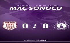 Afjet Afyonspor, Pendikspor ile yenişemedi !!